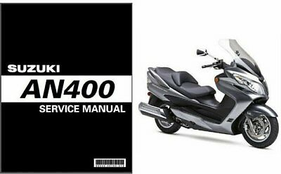suzuki burgman 400 an400 2007 2008 2009 2010 2011 2012 service rh picclick com Suzuki Burgman 400 Top Speed 2011 suzuki burgman 650 executive service manual