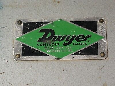 DWYER INSTRUMENTS MODEL NO.400-10-GAGE Air Velocity Meter