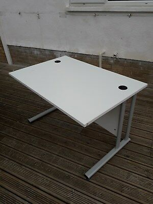Office Desk, white, 1200mm x 800mm, high quality, excellent condition