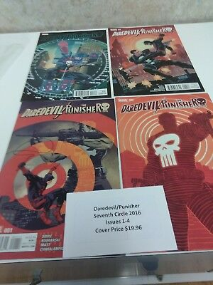 Daredevil The Punisher seventh circle 2016 issues 1 through 4