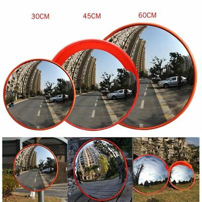 "Round 18"" 45cm Acrylic Indoor Traffic Safety Security Convex Mirror Blind Spot"