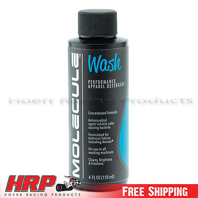 Simpson MLWA4 Molecule Helmet Wash 4oz. Spray Bottle