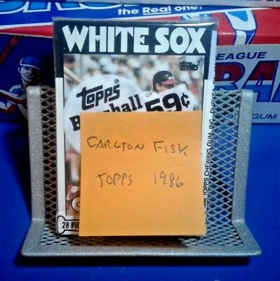 Unopened Topps Baseball Cards Pack - Carlton Fisk - Mint - Free Shipping