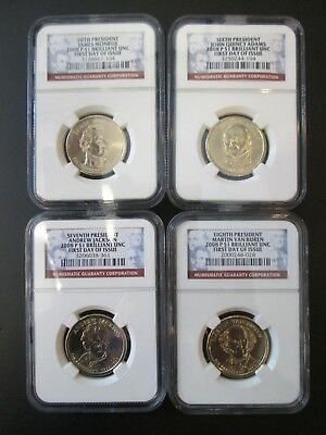 4-2008 P $1 Presidential Dollars First Day Issue Brilliant Unc. 15th-18th