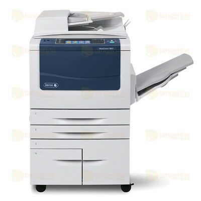 Xerox WorkCentre 5875 Monochrome MFP Laser Copier Printer Scanner 75 PPM A3