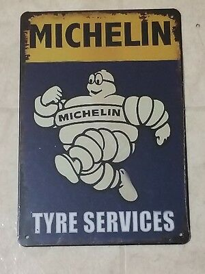 Michelin Tire Tyre Service sign Vintage Style