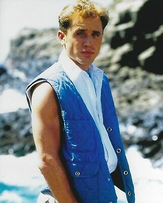David Yost Mighty Morphin Power Rangers 8x10 Photo 1995 Movie Blue Ranger Billy