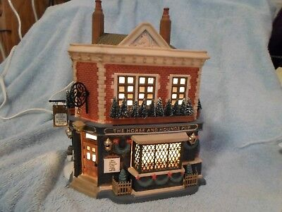 The Horse And Hounds Pub  *dept 56* Dickens Village *retired* Original Box