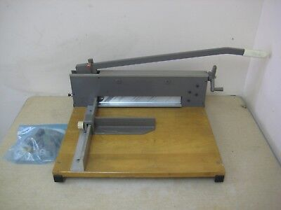 Martin Yale 0-12 7000E Commercial Heavy Duty Guillotine Stack Paper Cutter Used