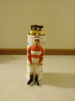 Swank At The Post Vintage Horse Racing Table Lighter memorabilia collectible