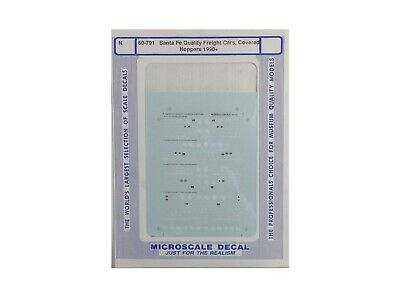 PS Covered 3-Bay Microscale Decal N  #60-493 MP Freight-Hopper