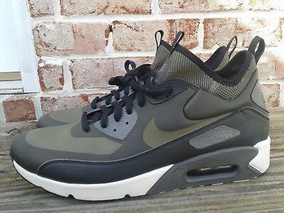 free shipping 9a9bd 091af ... switzerland nike air max 90 ultra mid winter sz 14 sequoia olive green black  924458 300