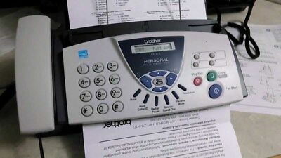 Brother FAX-575 Personal Fax, Phone, and Copier / Lightly Used