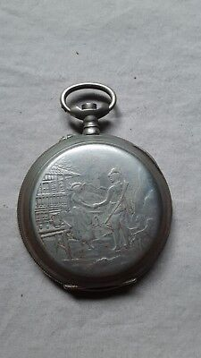 Repousse watch