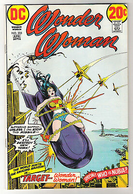 Wonder Woman Vol. 32 No. 205 March-April 1973 - Introduction of Princess Nubia
