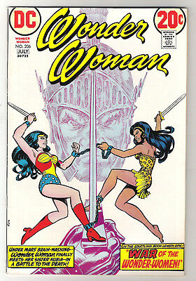 Wonder Woman Vol 32 No 206 June-July 1973 Story of birth Wonder Woman Nubia