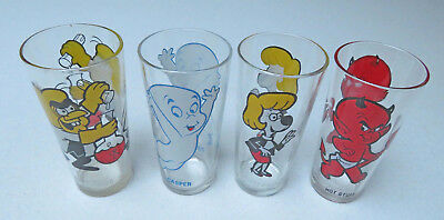 Pepsi glasses Jay Harvey General Mills 4 different excellent