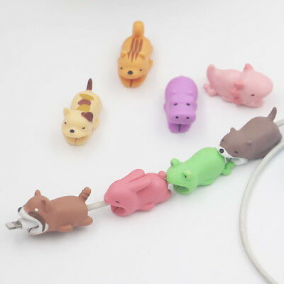 1Pc Animal Cable Saver Protector USB Charger Data Line Wire Cord Protection