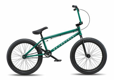 "We The People 2019 Arcade 20.5 Trans Green Complete Bmx Bike 20.5"" S&M Bikes"