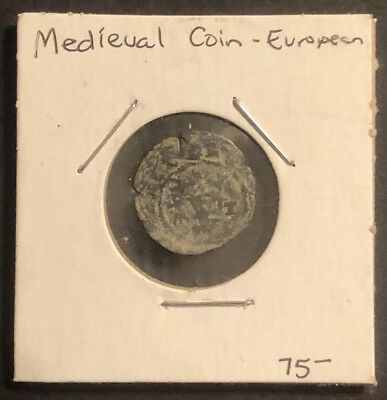 RARE Medieval Coin Token European Ancient? Medal Artifact Antique Currency Numis