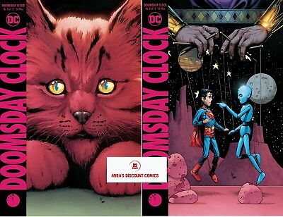 Doomsday Clock #8 Cover Set (A & Variant) 💀💀 - 12/5/18