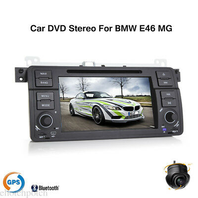 For BMW E46 MG 75 GPS Navigation Car DVD Stereo Player Bluetooth HD Touch Radio