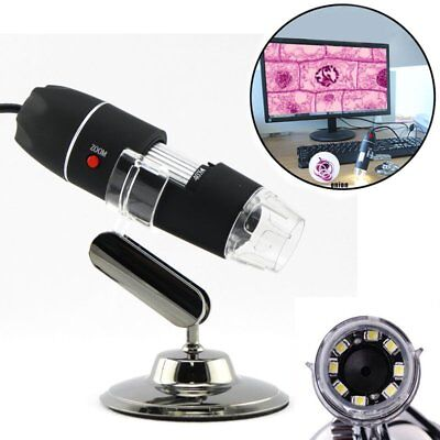 1000x 8LED USB Digital Microscope Endoscope Magnifier Electronic Video Camera