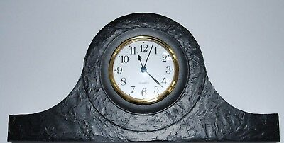Coal Mantle Clock made in the UK - Hand Crafted - 415