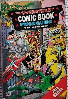 Vintage OVERSTREET 1998 Comic Book Price Guide 28th EDITION #496B g collectors