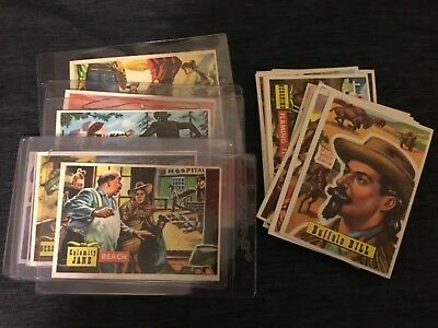 Lot of 24 Vintage 1956 Topps Round Up Roundup Western Cards Rare  Excellent Cond