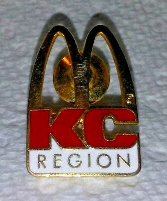 McDonald's Restaurant KC Region Crew/Employee Lapel Pin