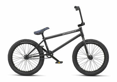 "We The People 2019 Crysis 20.5 Matte Black Complete Bmx Bike 20.5"" S&M"