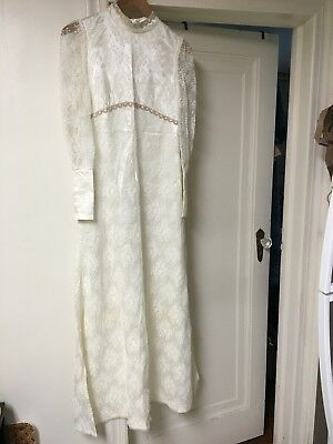 Vintage  Wedding Dress 1960's