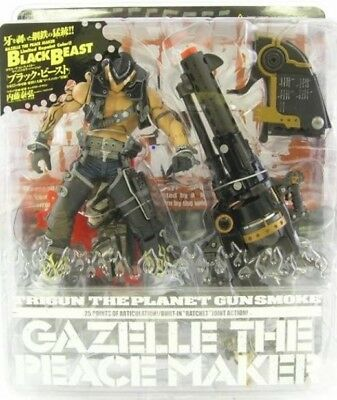 Trigun GAZELLE the Peacemaker BLACK BEAST Action Figure