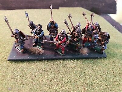 28mm Painted Dark Age Anglo Danish Huscarles Looking For Blood All Gripping...