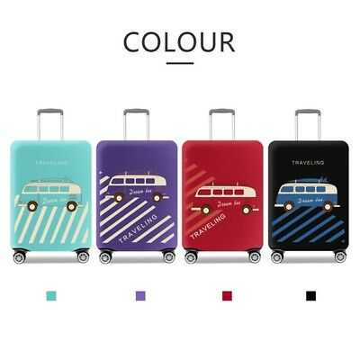 New Protective Travel Luggage Suitcase Dustproof Cover Elastic Protector Case