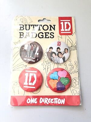 One Direction (1D) Button Badges Collectables - Brand New