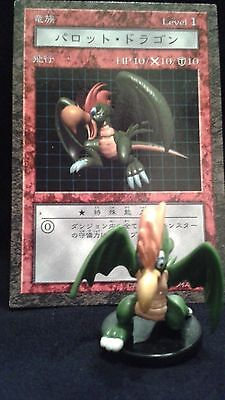 YUGIOH Dungeon Dice Monsters DDM - Japanese PARROT DRAGON  figure/card