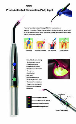 Dental Diode Laser System Wireless laser Pen soft tissue Perio Endo 650nm F3WW