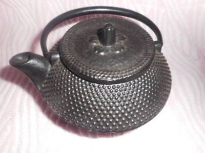 "Japanese Iron Tea Pot Tea Kettle "" Sakura Arare "" Kyusu Tetsubin Tea Ceremony"