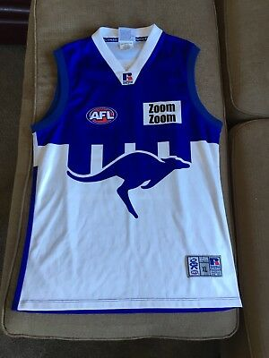 2002 North Melbourne Winston Abraham Player Issue Guernsey.