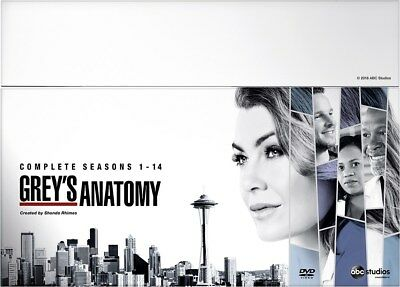 Grey's Anatomy: Complete Seasons 1-14 (Box Set) [DVD]