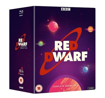 Red Dwarf: Complete Series I-VIII (with DVD - Box set) [Blu-ray]