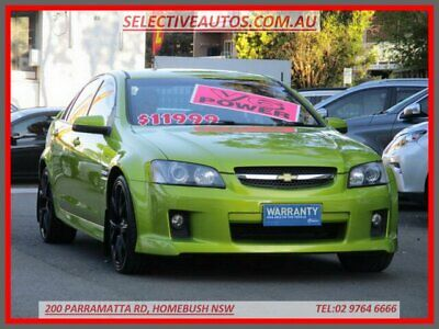 2008 Holden Commodore VE MY08 SV6 Green Automatic 5sp A Sedan