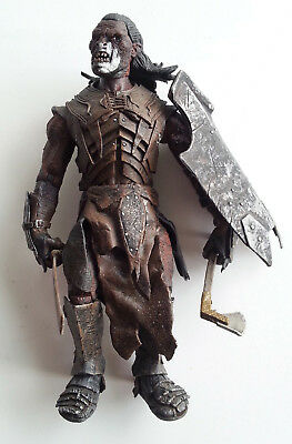 Herr der Ringe Figur Lord of the Rings Brown Orc mit Schild Neca Movie Maniacs ?