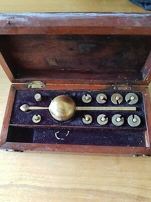 Antique victorian Sikes Hydrometer by Glashan & Co., Albany Works, Glasgow