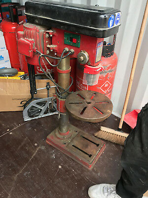 SEALEY Pillar Drill - red as pictured
