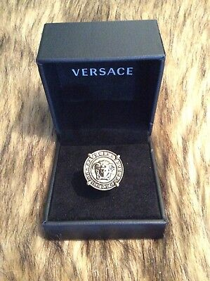 versace medusa ring gold