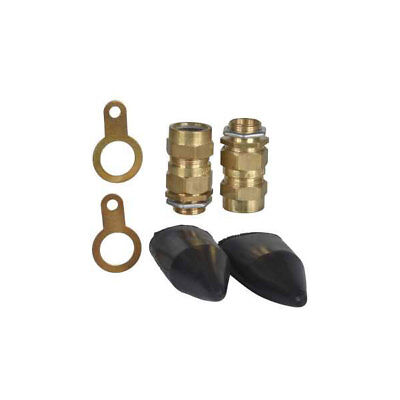 Schneider Brass Cable Gland Kit Outdoor 25mm MCW25K (K170)