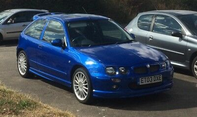 MG ZR 160 Trophy Blue - low mileage example